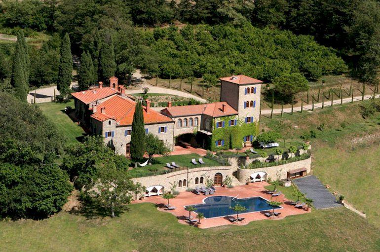 Tuscan Villa For Rent Luxury