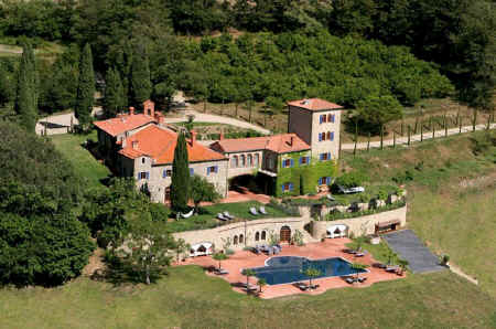 luxury villa rental Tuscany
